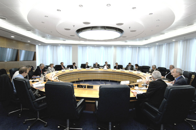 A meeting of the Governing Council of the European Central Bank