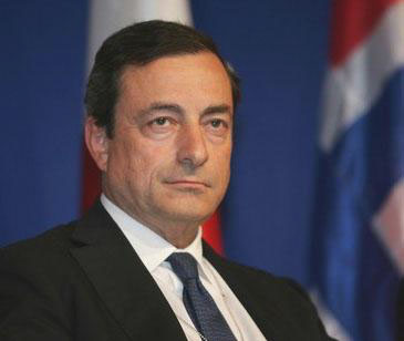 Mario Draghi, President of the ECB and chairman of the Executive Board